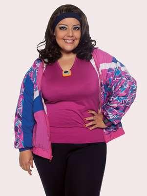 Constanza Hernández se siente orgullosa de sus curvas. Foto: Oficial RCN