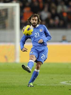 Jogo da Itália, de Pirlo, tem grande procura para Copa das Confederações Foto: Getty Images