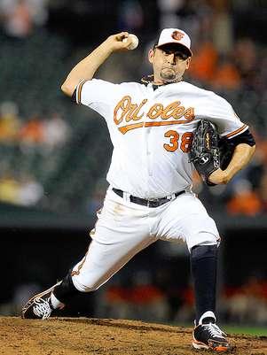 Luis Ignacio Ayala, cerrador de los Orioles de Baltimore Foto: Patrick McDermott / Getty Images