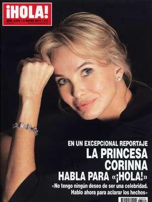 """La princesa Corinna, amiga """"entrañable"""" del Reyrompe su silencio hoy en la revista ¡Hola! Foto: Hola"""