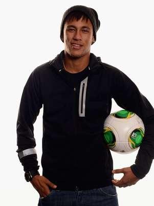 Neymar concorre a atleta revelação Foto: Getty Images