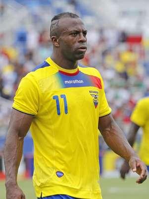 """""""Chucho"""" Benítez tinha grandes chances de disputar a Copa do Mundo de 2014 pela seleção do Equador Foto: Getty Images"""