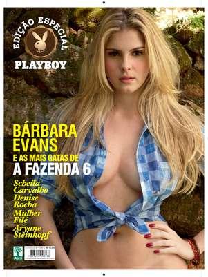 Publicação lança edição especial com as gatas da Fazenda 6 Foto: Revista Playboy / Divulgação