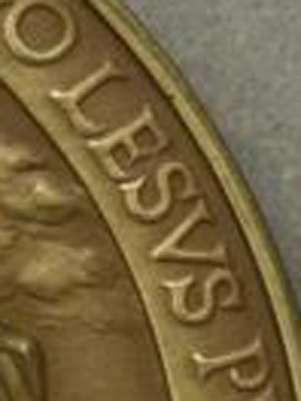 Nome 'Jesus' foi grafado 'Lesus' Foto: Reprodução