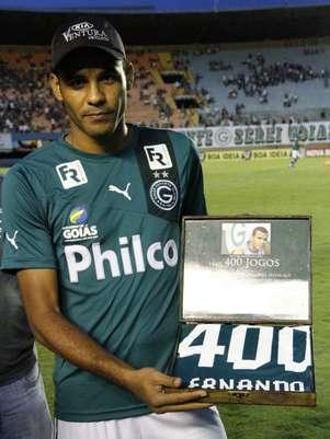 Ernando foi um dos destaques do Goiás no Campeonato Brasileiro Foto: Rosiron Rodrigues/Goiás EC / Divulgação