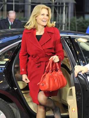 Helle Thorning-Schmidt é conhecida por seu apreço a roupas de drige Foto: AFP