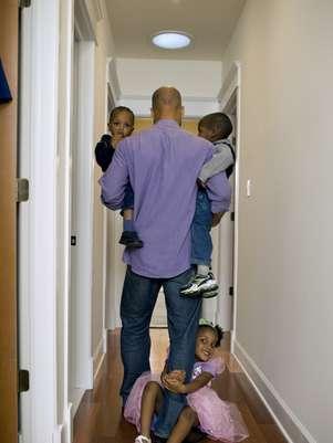 29% disseram passarmais tempo em casa do que os pais da geração anterior Foto: Getty Images