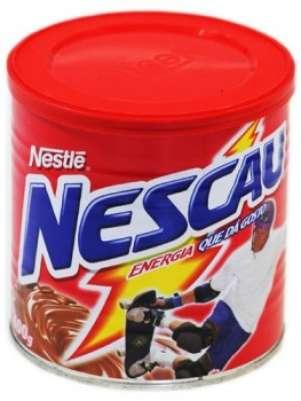 Lata do achocolatado Nescau; STJ decidiu manter indenização de R$ 3 mil a consumidora que encontrou metais no alimento Foto: Divulgação