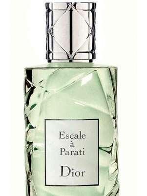 O perfumista da Dior desenvolveu um perfume inspirado em uma cidade praiana do Rio de Janeiro, Paraty Foto: Divulgação