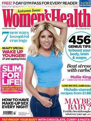 Mollie King é capa da revista Women's Health do Reino Unido Foto: Divulgação