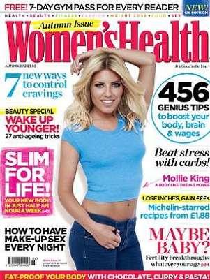 Mollie King é capa da revista Women's Health do Reino Unido Foto: Divulgação
