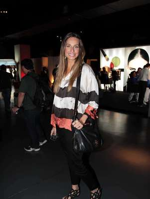 Mariana Weickert foi ao evento Foto: AgNews / Orlando Oliveira