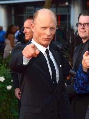 O ator Ed Harris mantem o charme aos 61 anos Foto: Getty Images