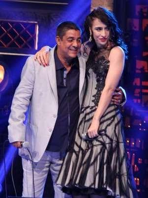 No palco com Zeca, esteve também Marisa Monte Foto: Alex Palarea  / AgNews