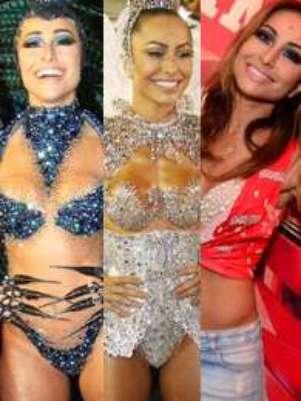 Seja no Rio de Janeiro, em São Paulo ou na Bahia, os famosos souberam aproveitar a festa e, agora, 2013 está pronto para começar Foto: AgNews