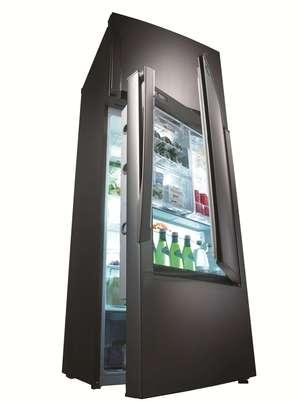 O refrigerador Inspiration possui iluminação interna de LED Foto: Divulgação