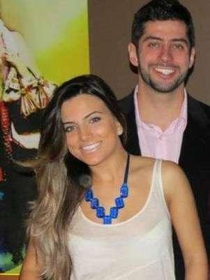 Antes de se envolver comLetícia, Marcelo namorou outra bela mulher Foto: Twitter / Reprodução