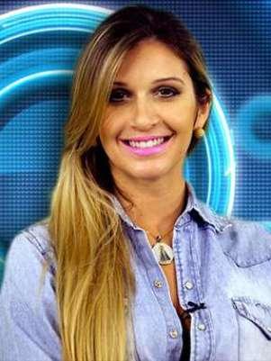 """A miss afirmou que Bial dá """"moral"""" para ela Foto: Globo/Divulgação"""