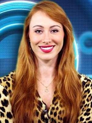 Aline, 33 anos, é atriz  de Porto Alegre Foto: TV Globo / Divulgação