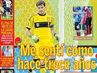Iker Casillas. Foto: AS