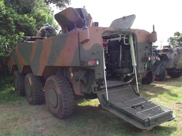 Blindado Guarani substituirá frota do Exército e está em fase final de testes Foto: Rose Mary de Souza / Especial para Terra