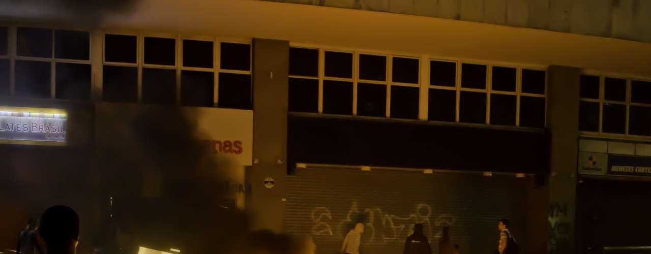 18 de junho - No Rio de Janeiro, Assembleia Legislativa (Alerj) foi novamente local de protestos