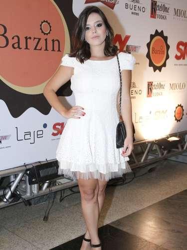 Giovanna Lancellotti também esteve no evento