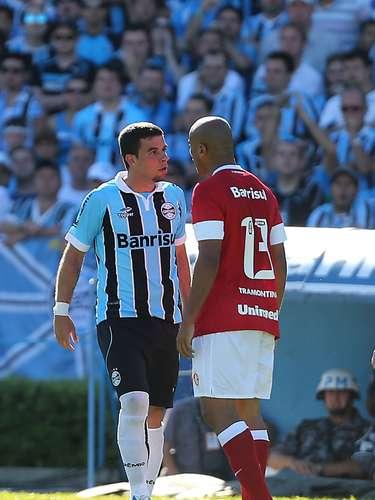 André Lima e Rodrigo Moledo também discutiram durante a confusão