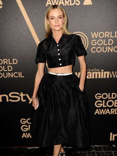 A atriz alemã Diane Kruger é uma das personalidades mais admiradas pelos looks escolhidos e aparece em lista das mulheres mais bem vestidas de 2012 da Us Weekly