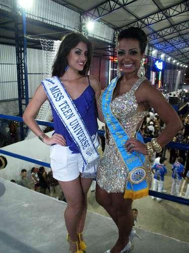 O evento contou com diversas outras musas do Carnaval paulista. Na foto, Ana Julia Darigon