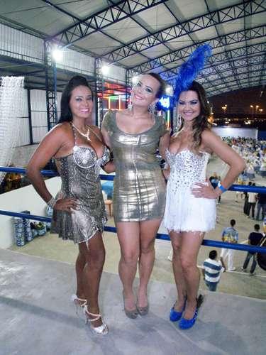 Andrea Martins, Geisy Arruda e Maísa Magalhães