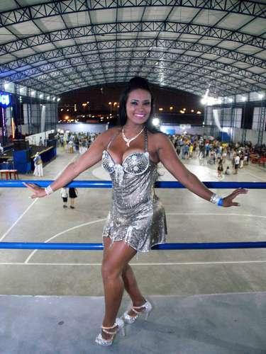 Andrea Martins, musa da Águia de Ouro
