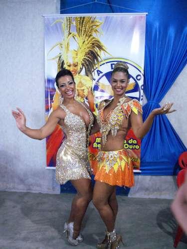 Cinthia Santos e Milena Nogueira