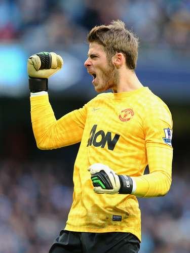 De Gea comemora vitória sofrida do Manchester United