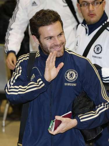 Juan Mata é uma das esperanças do Chelsea em busca da conquista inédita