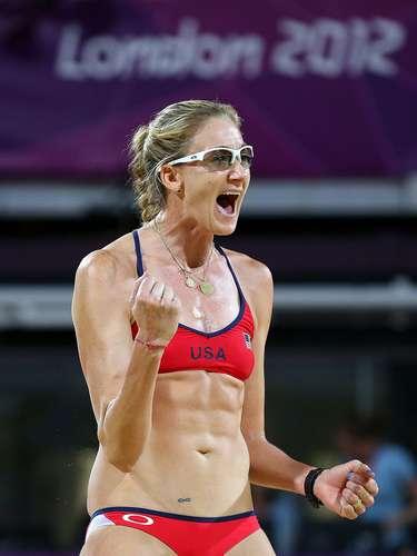 28: Kerri Walsh (Estados Unidos): vôlei de praia - 146mil pesquisas