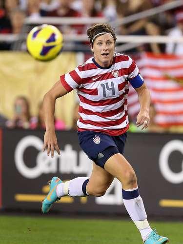 25: Abby Wambach (Estados Unidos): futebol - 203mil pesquisas