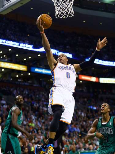 44: Russell Westbrook (EUA) - Basquete