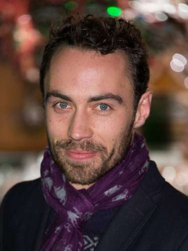 James Middleton, 25 anos, irmão de Kate Middleton: \