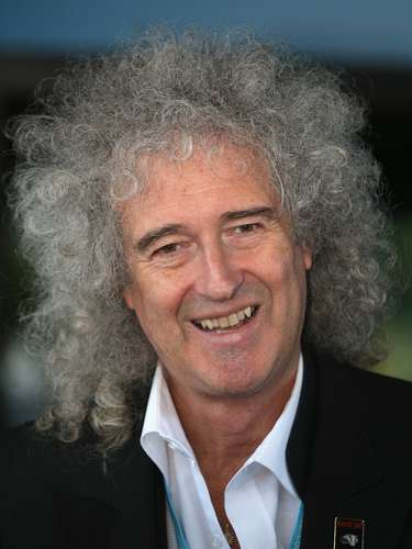 Brian May, 65 anos, guitarrista do Queen: \