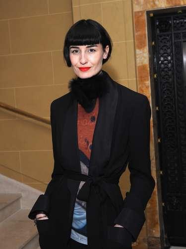 Erin O'Connor, 34 anos, modelo:\