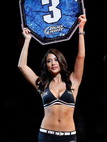 Arianny Celeste embeleza o UFC 155