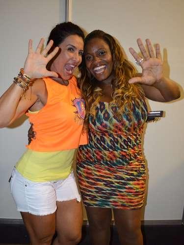 Scheila Carvalho e Ludmillah Anjos