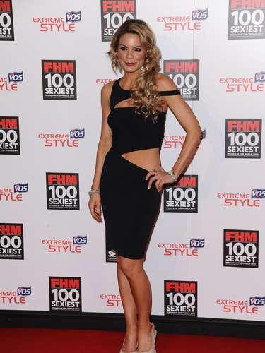 Charlotte Jackson apresenta diversos programas na Sky Sports inglesa, mas também costuma participar de eventos fora dos esportes