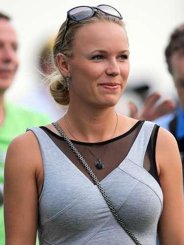 90ª: Caroline Wozniacki - tenista, namorada do golfista Rory McIlroy
