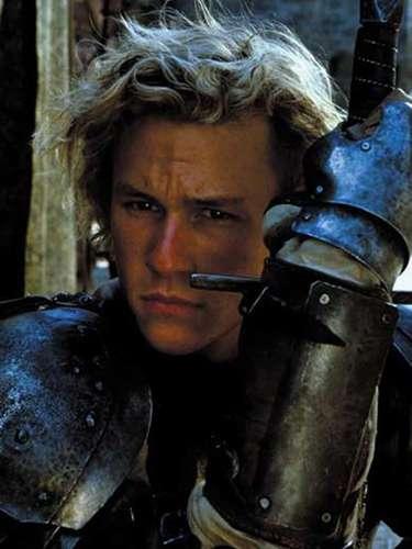 Sua primeira grande oportunidade em Hollywood veio com 'Coração de Cavaleiro', em 2001