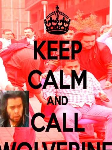 Os cartazes Keep Calm ganharam uma versão proópria com \