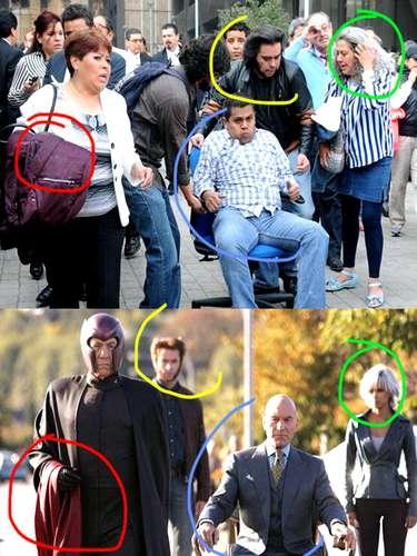 Wolverine, Magneto, Tempestade e o professor Xavier, todos estavam por lá