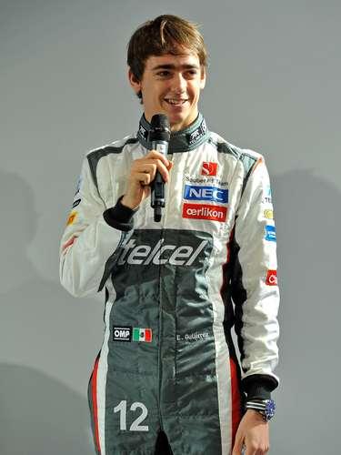 Gutiérrez concede entrevista.O mexicano 21 anos, já era reserva da Sauber e foi promovido a titular. Ele estreará na F1 após ser terceiro colocado da última temporada da GP2