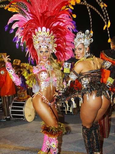 Irmãs Minerato, as musas da Gaviões no Carnaval de SP